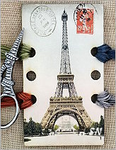 Eiffel Tower Thread Organizer from Kelmscott