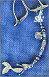 Mermaid Scissor Fob from Kelmscott