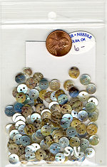 Kelmscott Mini Rounds Shell Button Set - click for more