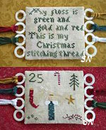 Christmas Threads from Primitive Jewel - click to see more