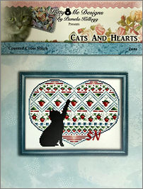 Cats and Hearts June from Kitty & Me Designs - click for more
