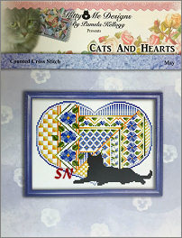 Cats and Hearts May from Kitty & Me Designs - click for more
