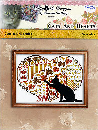 Cats and Hearts November from Kitty & Me Designs - click for more