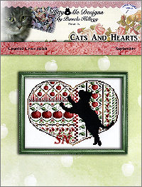 Cats and Hearts September from Kitty & Me Designs - click for more