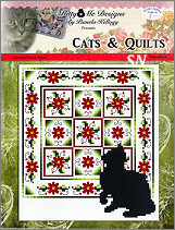 Cats and Quilts December from Kitty & Me Designs - click for more