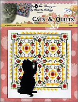Cats and Quilts June from Kitty & Me Designs - click for more