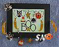 BOO Garland from A Kitty Kat Original - click to see more