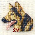German Shepherd Silk Kit -- click to see a larger view.