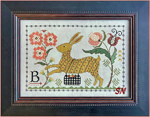 B is for Bunny from La-D-Da -- click to see a larger view