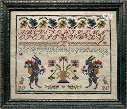 A Two Rabbit Sampler from La-D-Da -- click to see a larger view