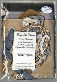 Lady Dot Neutrals Trim Finishing Packet