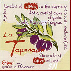 Lili Points La Tapenade Olives -- click to see more!