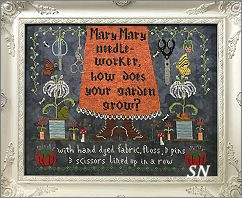 Mary, Mary Needleworker from Lindy Stitches - click for more