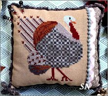 Strutting Tom from Lindy Stitches - click for more