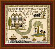 Black Sheep Sampler from Little by Little - click to see more