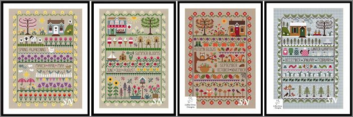 The 4 Seasons from Little Dove Designs - click to see more