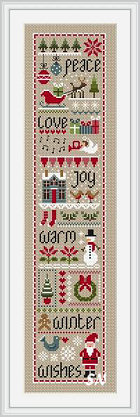 Christmas Wishes from Little Dove Designs - click to see more
