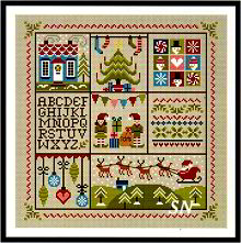 Holly Jolly Christmas from Little Dove Designs - click to see more