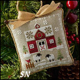 Farmhouse Christmas Part One: Little Red Barn from Little House Needleworks -- click to see lots more