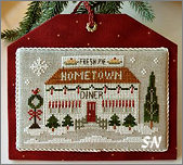 Hometown Holiday #12 The Diner from Little House Needleworks -- click to see lots more
