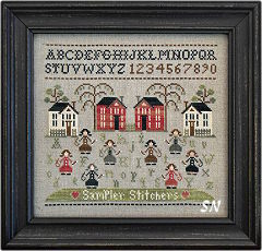 Sampler Stitchers from Little House Needleworks -- click to see lots more