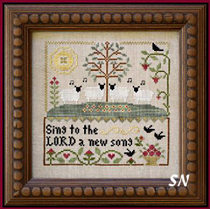 Sing to the Lord from Little House Needleworks -- click to see lots more