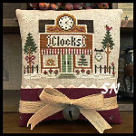 Hometown Holiday #17 Clockmaker from Little House Needleworks -- click to see lots more