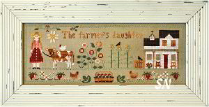 The Farmer's Daughter from Little House Needleworks - click to see more