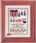 Pinetop Lodge by Little House Needleworks -- click to see more!