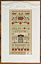 Summer Band Sampler from Little House Needleworks - click to see more