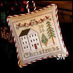 2016 Christmas Ornament from Little House Needleworks -- click to see lots more