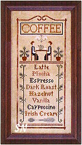 Coffee Menu from Little House Needleworks -- click to see more!