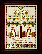 The Friendship Tree from Little House Needleworks -- click to see more!