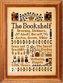 The Bookshelf from Little House Needleworks -- click to see the other new designs!