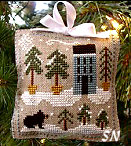 #4 Snowy Pines from Little House Needleworks - click for more