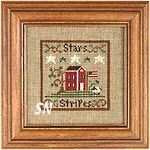 Stars & Stripes by Little House Needleworks -- click to see more
