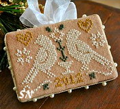 2012 Ornament #3 Quaker Birds from Little House Needleworks - click to see more