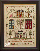 Little House Neighborhood from Little House Needleworks - click for more
