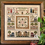 Orchard Valley Quilting Bee from Little House Needleworks - click to see more
