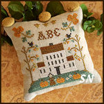 ABC Samplers #1 - ABC from Little House Needleworks -- click to see more
