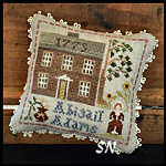 Early Americans #7 Abigail Adams from Little House Needleworks -- click to see lots more
