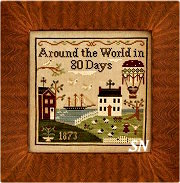Around the World in 80 Days from Little House Needleworks - click to see more