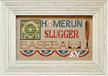 Batter Up! from Little House Needleworks - click to see more