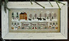 Bear Tree Forest from Little House Needleworks - click to see more