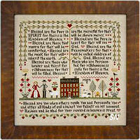 The Beatitudes from Little House Needleworks -- click to see more