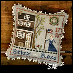 The Early Americans #1 Betsy Ross from Little House Needleworks -- click to see lots more