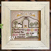 Born in a Manger from Little House Needleworks -- click to see lots more