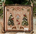 2011 #1 Cardinal Winter from Little House Needleworks - click to see more