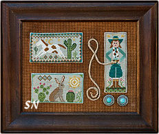 Tumbleweeds #2 Cowgirl Country from Little House Needleworks - click to see more