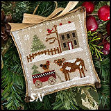 Farmhouse Christmas Part 4: Dairy Darlin from Little House Needleworks -- click to see lots more